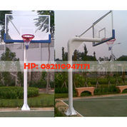 Ring Basket Tiang Tanam Papan Pantul Akrilik Tebal 15 Mm