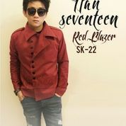 Red Korean Style Jacket (23460267) di Kab. Jepara