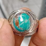 Natural Batu Cincin Pirus Persia Hijau 01 (23473775) di Kota Pasuruan