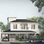 Rumah Pojok Classic Modern BSB City Mijen Semarang