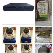Paket CCTV HD 2MP: 4 Channel, 4 Kamera (4 In), HDD 500 GB [PA01] Rp?1.950.000 (23476275) di Kota Jakarta Pusat