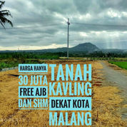 Tanah Kavling Dekat Kota Cuma 30 Jutaan (23496735) di Kota Malang