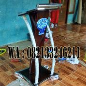Podium Minimalis Stainless CU HKK Terbaru (23498291) di Kab. Jepara