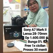 Sony A7 Mark II Lensa 28-70mm Garansi 1 Tahun
