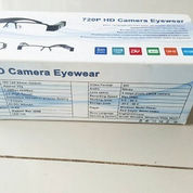 Spy Glasses Camera 720P HD High Resolution Hitam (2349927) di Kota Jakarta Pusat