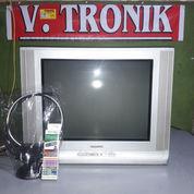 """Tv Samsung 21""""Flat (Bergaransi+Ongkir+Remote+Antena)"""