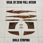 Striping Vega ZR 2010 Full Hitam (23507691) di Kota Jambi