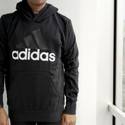 Jaket Adidas ESS Lin P/O FT Black (23508319) di Kota Jakarta Barat