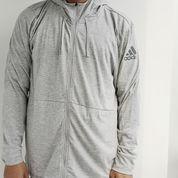 Jaket Adidas Workout FZ Lite Grey (23508807) di Kota Jakarta Barat