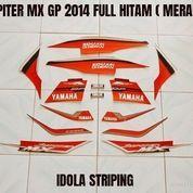 Striping Jupiter MX GP 2014 Full Hitam ( Merah ) (23512155) di Kota Jambi