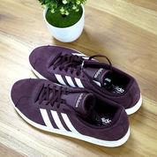 Adidas Sepatu VL Court 2.0 Maroon
