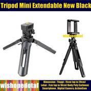 Tripod Mini Extendable New Black (23530963) di Kota Jakarta Pusat