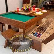 Paket Meja Billiard 7Ft, Penutup & Kursi Penyimpanan Aksesoris Biliar (23534235) di Kota Pasuruan