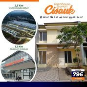 Rumah Syariah 2 Lantai Stasiun Cisauk (23547115) di Kota Tangerang Selatan