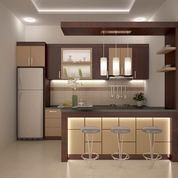 Kitchen Set Minibar Hpl Termurah Area Purwokerto Banyumas (23550075) di Kab. Banyumas