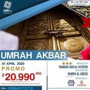 Paket Umrah Akbar April (23551963) di Kota Jakarta Timur