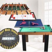 Meja Billiard 4in1 Multi Game Soccer Pingpong Hockey Billiard Original