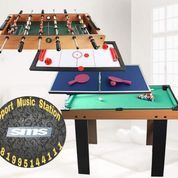 Meja Billiard 4in1 Multi Game Soccer Pingpong Hockey Billiard Original (23552911) di Kota Pasuruan