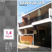 Rumah 2 Lantai Furnished Luas 120 Di Paniai Sawojajar 1 Kota Malang _ 381.18 (23554539) di Kota Malang