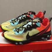 Sepatu Nike React Element 87 Aurora Volt