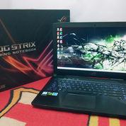 Laptop Gaming Asus Strix GL503VD I7-7700HQ Mulus Bersih Gahar