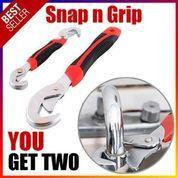 Snap N Grip Double Kunci Inggris Pas - Kunci Inggris Serbaguna Universal (23574235) di Kota Surabaya