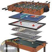 Meja Billiard Multiple Game 11-In-1 All In One (23589503) di Kota Pasuruan