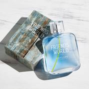 Parfum Pria Friends World For Him Eau De Toilette BARU ORIGINAL