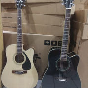 Gitar Akustik Yamaha Jombo Custom Murmer.. (23623639) di Kota Jakarta Barat