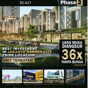 Ruko New East Tahap 2, Jakarta Garden City