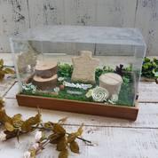 Tempat Cincin / Ring Box / Kotak Cincin Nikah Tray Bambu