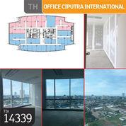 Office Ciputra International, Tower 3, Jakarta Barat, 37,86 M, Lt 12, PPJB (23633159) di Kota Jakarta Barat