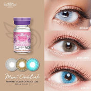 DREAMCOLOR MINI LOOK-MINI DEVILISH-MINI DARLING-MINI DELIGHT Softlens