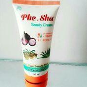 Phe Sha Beauty Cream Perawatan Penghilang Jerawat Alami 100% Original