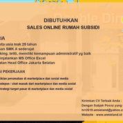 Sales Online Rumah Subsidi