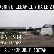 Pabrik Lebak Non Aktif Hitung Tanah Di Rangkas Bitung Banten (23663999) di Kab. Lebak