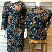 Sepasang Dress Batik Batu Raden