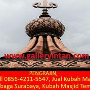 PENGRAJIN, Call 0856-4211-5547, Harga Kubah Masjid Tembaga Surabaya, Kubah Masjid Tembaga