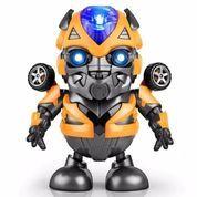 Mainan Anak Robot Dance Hero Joget Musik & Led BUMBLEBEE Transformer (23676739) di Kota Surakarta