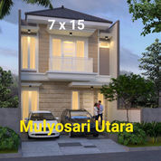 Mulyosari Utara Brand New House Modern Stylish, Surabaya (23677775) di Kota Surabaya