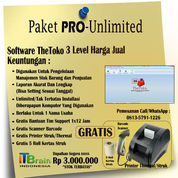 Software Toko Paket Unlimited Free Printer Thermal + Scan Barcode (23681363) di Kab. Minahasa Tenggara