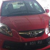2015 Honda Brio E Satya Merah Manual (23681671) di Kota Malang