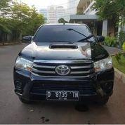 Toyota Hilux 2.5 E Diesel VNT Manual Tahun 2017 Dobel Cabin 4x4