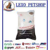 Pasir Kucing Top Cat Litter Bentonite 10L / Gumpal Wangi 10 Litter