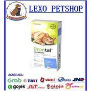 Obat Cacing Kucing Drontal Cat Per Tablet