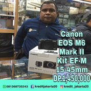 Canon Eos M6 Mark II Kit EF-M 15-45mm (23712355) di