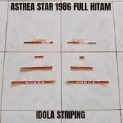 Striping Astrea Star 1986 Full Hitam (23712419) di Kota Jambi