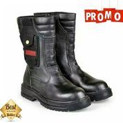 Sepatu Safety Boots / Sepatu Proyek / Sepatu Kerja Lapangan / Sepatu Kulit / Sepatu Kerja