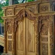 Kusen Pintu Gebyok Ukir (23719979) di Welahan