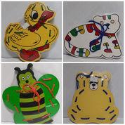 Papan Jahit Mainan Anak Gambar Binatang (23723703) di Kota Sukabumi